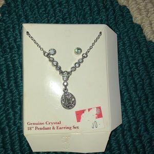 NWOT- necklace & earring set